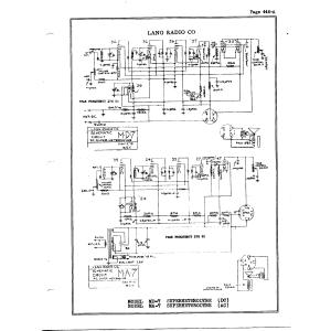 Lang Radio Co. MA-7