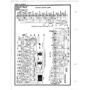 Lincoln Radio Corp. Hollister DC 8