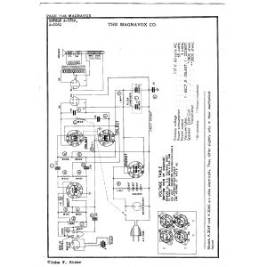 Magnavox Co. A-206G