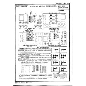 Majestic Radio & Telev. Corp. 1356X