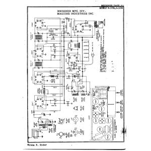 Meissner Mfg. Div. - Maguire Industries, Inc. 9-1084
