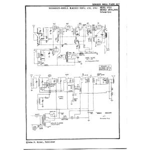 Mission Bell Radio Mfg. Co. Inc. 3710