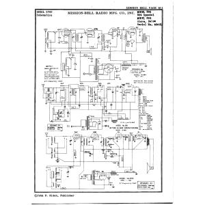 Mission Bell Radio Mfg. Co. Inc. 386