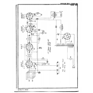 Mission Bell Radio Mfg. Co. Inc. 418