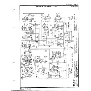 Monitor Equipment Corp. M3070