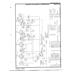 Monitor Equipment Corp. M-510