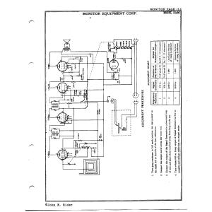 Monitor Equipment Corp. RA50
