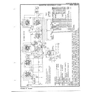 Monitor Equipment Corp. RAM-47
