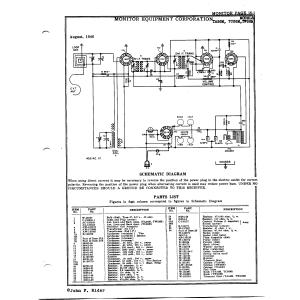 Monitor Equipment Corp. TA56M