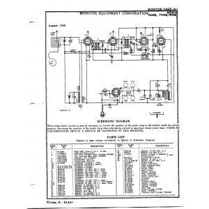 Monitor Equipment Corp. TW56M