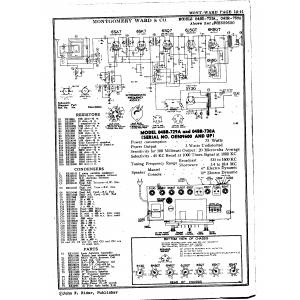 Montgomery Ward & Co. 04BR-729A