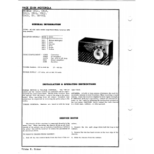 Motorola 5R11