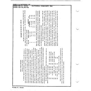 National Co., Inc. HRO-5-1