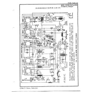 Oldsmobile Div. - General Motors 982085, Early