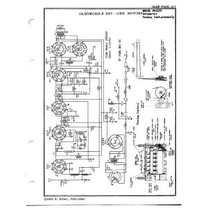 Oldsmobile Div. - General Motors 982160