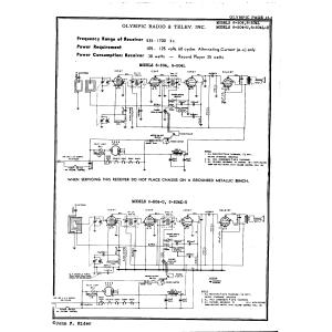 Olympic Radio & Television, Inc. 6-504L-U