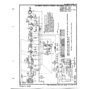 Olympic Radio & Television, Inc. 6-604V-220