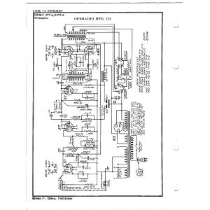 Operadio Corporation 2677-A