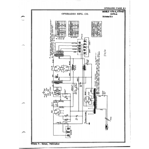 Operadio Corporation 478-A