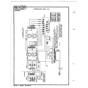 Operadio Corporation 483-A
