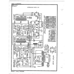 Operadio Corporation 823-A