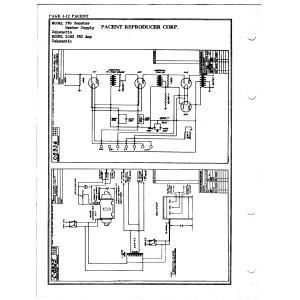 Pacent Reproducer Corp. 1063 PEC Amp