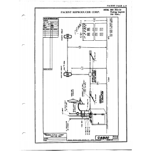 Pacent Reproducer Corp. 500 DDA-Jr