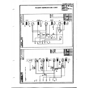 Pacent Reproducer Corp. 63 PEC Amp.