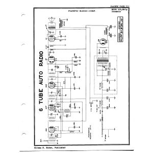 Pacific Radio Corp. 102, Early