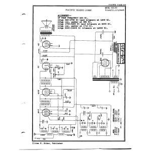 Pacific Radio Corp. 321-36
