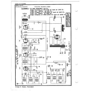 Pacific Radio Corp. 321-37