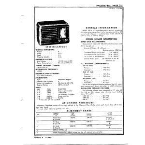 Packard Bell Co. 100-A