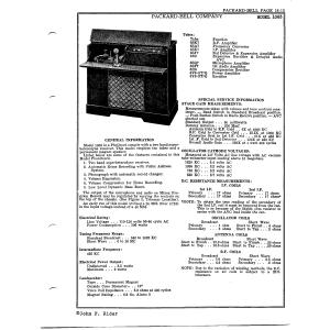 Packard Bell Co. 1063