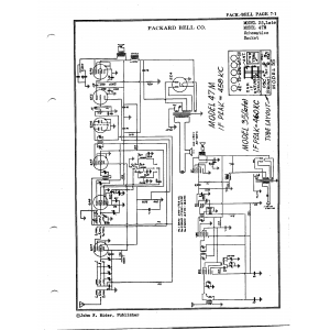 Packard Bell Co. 47M