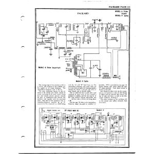Packard Motor Car Co. 4 Tube Super