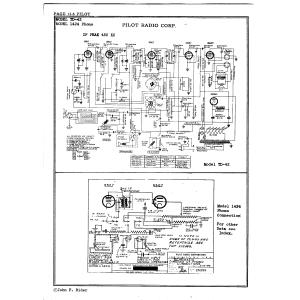Pilot Radio Corp. 1424 Phono
