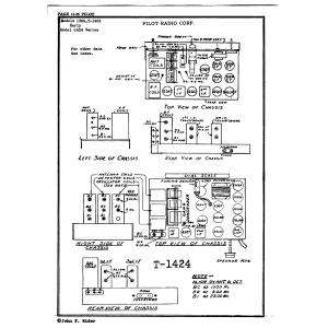Pilot Radio Corp. 1424 Series