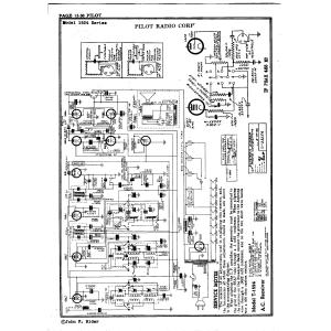 Pilot Radio Corp. 1524 Series