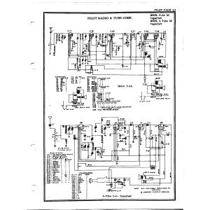 Pilot Radio Corp. 4 Tube D. C.