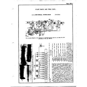 Pilot Radio Corp. K-136 Universal Super-Wasp