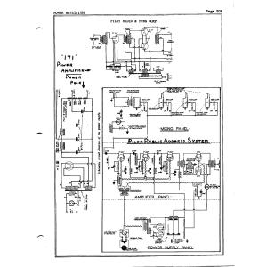 Pilot Radio Corp. PA System