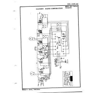 Pioneer Radio Corporation 60-A Series