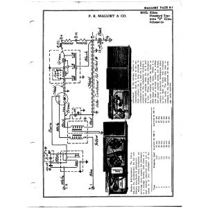 P.R. Mallory & Co. Elkon Standard Type