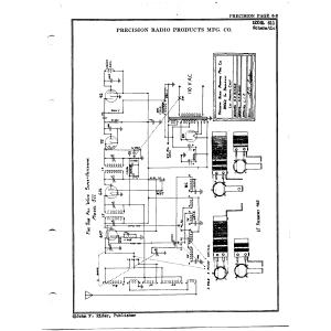 Precision Radio Products Mfg. Co. 511