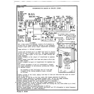Promenette Radio & Television Corp. 501A