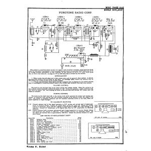 Purotone Radio Corp. 4516