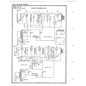 Radio Chassis, Inc. A.C. 25