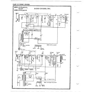 Radio Chassis, Inc. AC-36