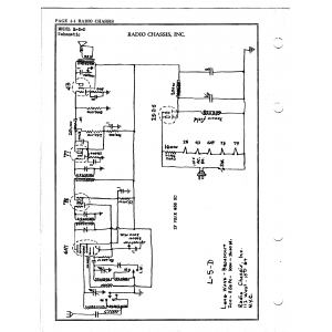 Radio Chassis, Inc. L-5-D