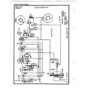 Radio Chassis, Inc. L-6-W